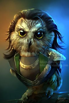 This is brilliant! The OWLVENGERS - Owloki * * * By http://4steex.deviantart.com/art/The-OWLVENGERS-Owloki-604319430