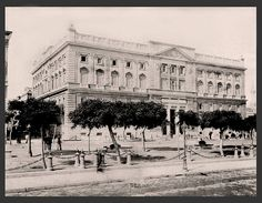 Government Building in Alexadria, Egypt in the 1800s | Flickr