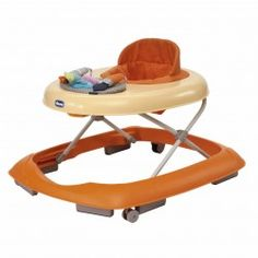 Chicco Paint Band Baby Walker - Orange