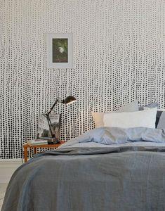 fototapete schlafzimmer minimalistische idee mit mustern