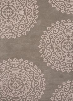 Timeless Medallions Abbey Stone/Pumis Stone Area Rug