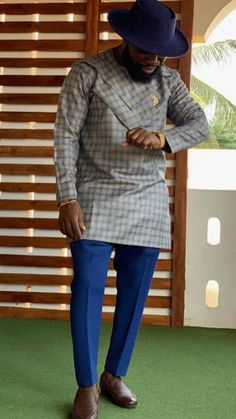 Call, SMS or WhatsApp if you want this style, needs a skilled tailor to hire or you want to expand more on your fashion business. African Wear Styles For Men, African Shirts For Men, African Dresses Men, African Attire For Men, African Clothing For Men, Nigerian Outfits, Nigerian Men Fashion, African Print Fashion, Africa Fashion