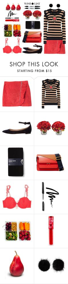 """#PolyPresents: Wish List"" by art-gives-me-life ❤ liked on Polyvore featuring MANGO, Dolce&Gabbana, Gianvito Rossi, The French Bee, Gap, Marni, Heidi Klum, Bobbi Brown Cosmetics, Lime Crime and Sharpie"