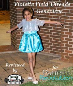 Genevieve Dress by Violette Field Threads — Pattern Revolution