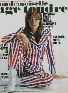 FRANÇOISE HARDY  France: Mademoiselle Age Tendre No 14, décembre 1965