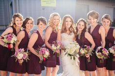 fall country wedding colors bridesmaid dresses - Google Search