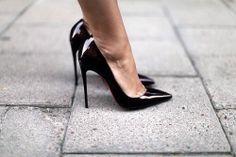 Black Stiletto Pumps
