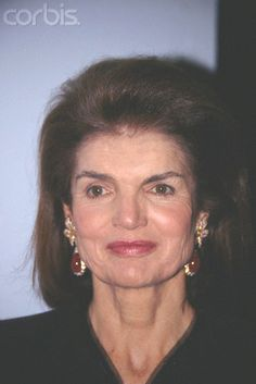Jacqueline Kennedy Onassis Jackie Kennedy Onassis attends a CBS party.  Date Photographed:December 08, 1988.♛♛♛♛♛♛♛♛♛♛♛♛♛   ........................RIP http://en.wikipedia.org/wiki/Jacqueline_Kennedy_Onassis