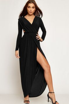 Giana Slinky Goddess Maxi Dress