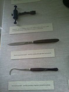 civil war medical tools....