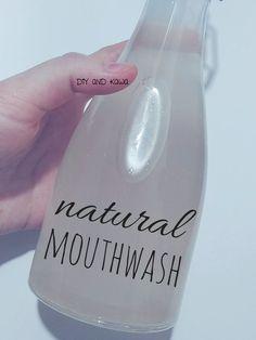 Natural Mouthwash for fresh breath - Gesund and Fitness Coffee Mask, Beauty Care, Diy Beauty, Beauty Hacks, Beauty Skin, Homemade Beauty, Beauty Guide, Beauty Secrets, Dental Health