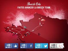 Extreme Sensio fait avancer les bretons grâce au carburant social #BreizhCola #buzz #LeGrandDebarquement #Digital #SocialMedia