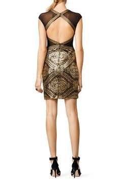 Rent Eyes of Gold Dress by Badgley Mischka for $30 - $35 only at Rent the Runway.