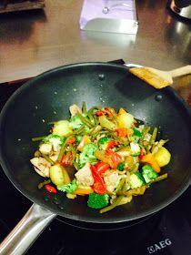 . . Cooking Diana . . : Wok de pavo con verduritas y salsa de soja