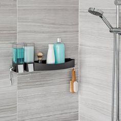 Shower Screen Acrylic Bathroom Shower Caddy Organizing