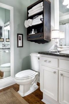 Benjamin Moore glass slipper. It's a very neutral blue with alot of gray in it. - Click image to find more home decor Pinterest