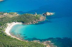 Balades sur littoral de #PortoVecchio #Corse : la tour génoise de #Fautea