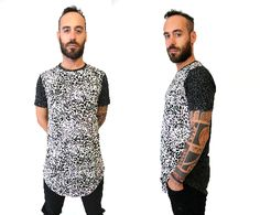 Long Jersey Tee with Animal Print More information at #ShopAyo