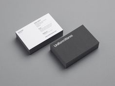 Uniform Ware business cards
