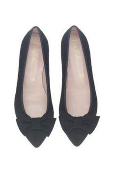 Pretty Ballerinas Black Flats With Bow Profile Photo