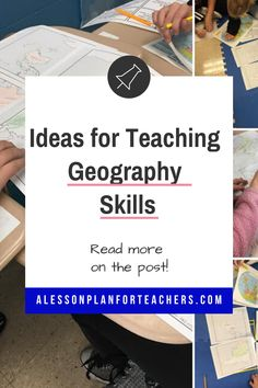 How to Introduce Basic Geography Skills in Your Social Studies Classroom Basic Geography, Geography Lessons, Teaching Geography, Teaching History, Social Studies Lesson Plans, Social Studies Classroom, Teacher Lesson Plans, Teaching Social Studies, Teaching Strategies