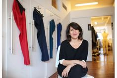 Fashion designer Izzy Camilleri, seen in her Toronto workspace in the Junction, designs clothing for those who use wheelchairs.  IZ Adaptive launched six years ago.