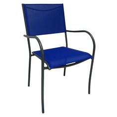 Room Essentials Stack Sling Chair Blue