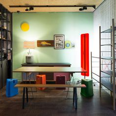 """Comfort and softness are the key principles of Fabien Cappello's Soft Play Lobby installation. The usual """"hard"""" furniture has been replaced with a landscape of beanbags, modified with a handle and made from fabrics donated by Kvadrat, Maharam, Marimekko, Tio Gruppen and Febrik..."""