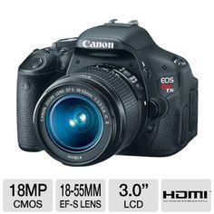 My new camera, Canon Rebel T3i