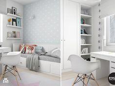 scandiHOUSE - Średni pokój dziecka dla dziewczynki dla ucznia dla nastolatka, styl skandynawski - zdjęcie od BYHOUSE ARCHITECTS