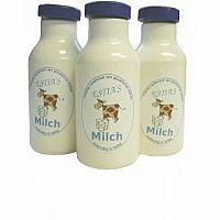 Wooden Milk Bottle