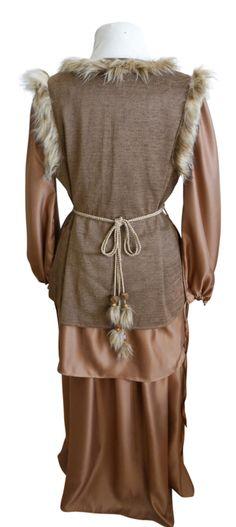 Set Bruin - Mt. M/L | Dames fantasy jurken | • The Chocolate Box