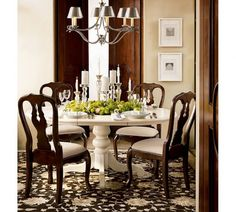 Luxury Traditional Dining Room Ideas by Pottery Barn