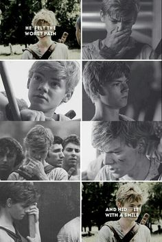 Newt!! My babyyyy!!! This sucks all the emotional crap he felt so yeah this really sucks.