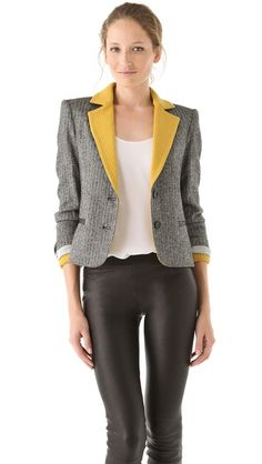 If I could only wear one blazer this fall, I would choose this one. Hands down.
