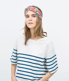 Image 1 of TURBAN STYLE HEADBAND from Zara