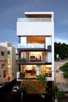 Design Hub - блог о дизайне интерьера и архитектуре: Таунхаус в Тель-Авиве