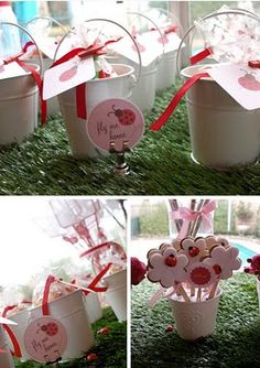 PARTY FAVOUR FRIDAY :: LADYBUG POTS