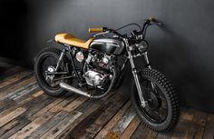 Honda CB125 Street Tracker by Ed Turner Motorcycles #motorcycles #streettracker #motos   caferacerpasion.com