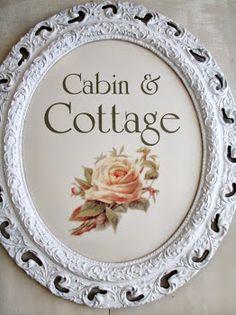 Cabin & Cottage : A Table Chez Jacqueline Junk Chic Cottage, Cottage Style, Cottage Ideas, Henna Designs, Shabby Chic Couture, Decoupage, Vintage Porch, Pink Home Decor, Rose Cottage
