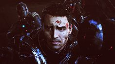 """That moment when my romanced Kaidan Alenko was torn from my Shepard, just before the """"big decision"""". """"Don't leave me behind. Mass Effect Kaidan, Mass Effect 1, Kaidan Alenko, Commander Shepard, Dont Leave Me, Meant To Be Together, First Humans, That Moment When, Geek Out"""
