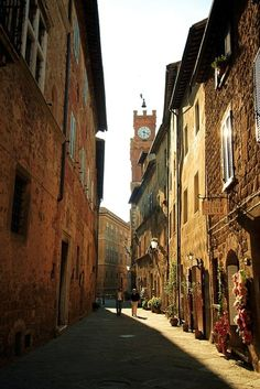 Pienza, Italy....charming.....couldn't believe I was here
