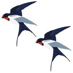 swallows Golondrinas Tattoo, Illustrations, Illustration Art, Vogel Tattoo, Barn Swallow, Wildlife Art, Bird Art, Vintage Images, Rock Art