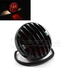 Universal Round Black Motorcycle Rear Tail Stop Light For Harley Bobber Chopper Custom Black Harley Bobber, Bobber Chopper, Motorcycle Lights, Stop Light, Motorcycle Accessories, Bicycle Helmet, Riding Helmets, Black, Products