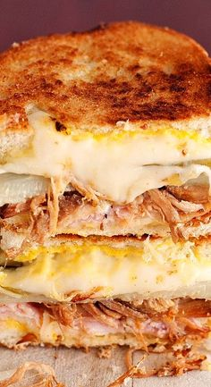 The Cuban Grilled Cheese...