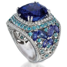 Blueberry Tanzanite™ from Arusha Exotics by Le Vian®