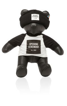 the Opening Ceremony leather bear is far superior to all other leather bears