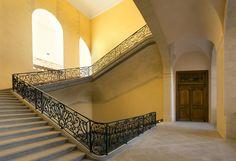 Escaliers intérieurs de l'Hôtel-Dieu