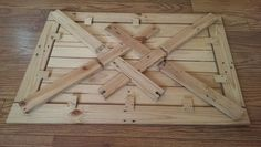3 Before & After: Recycled Pallet Pops With New Purpose — Instructables (collapsible)