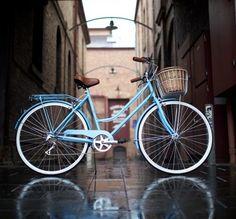 Cane Basket for Vintage Ladies Bicycle